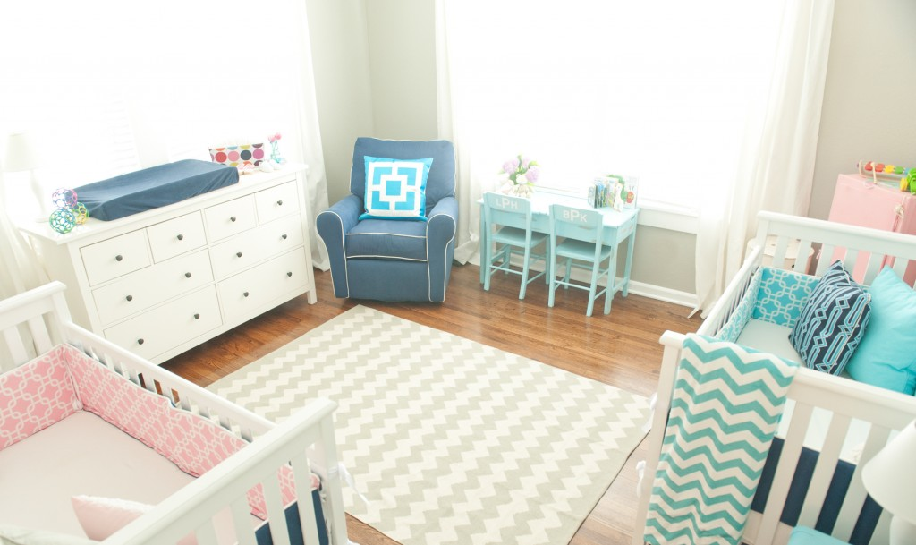 Baby Room Ideas For Twins Twin Nursery for Berkley and Haxton
