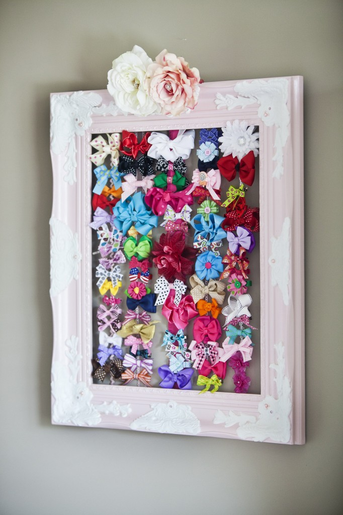 Baby Hair Bow Frame - Project Nursery