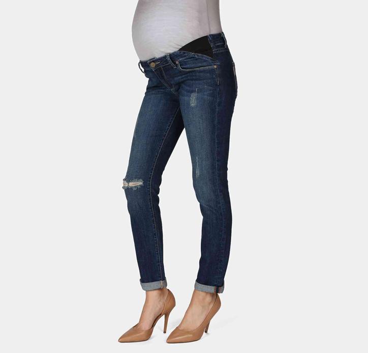Skinny Maternity Boyfriend Jeans from Nordstrom