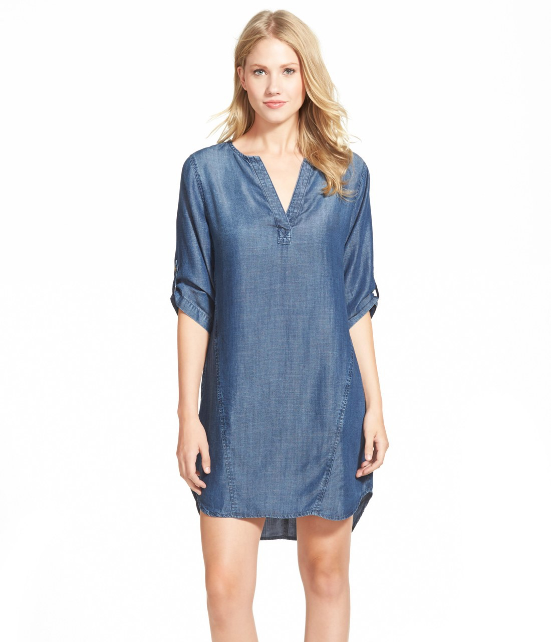 Chambray Shift Dress from Nordstrom
