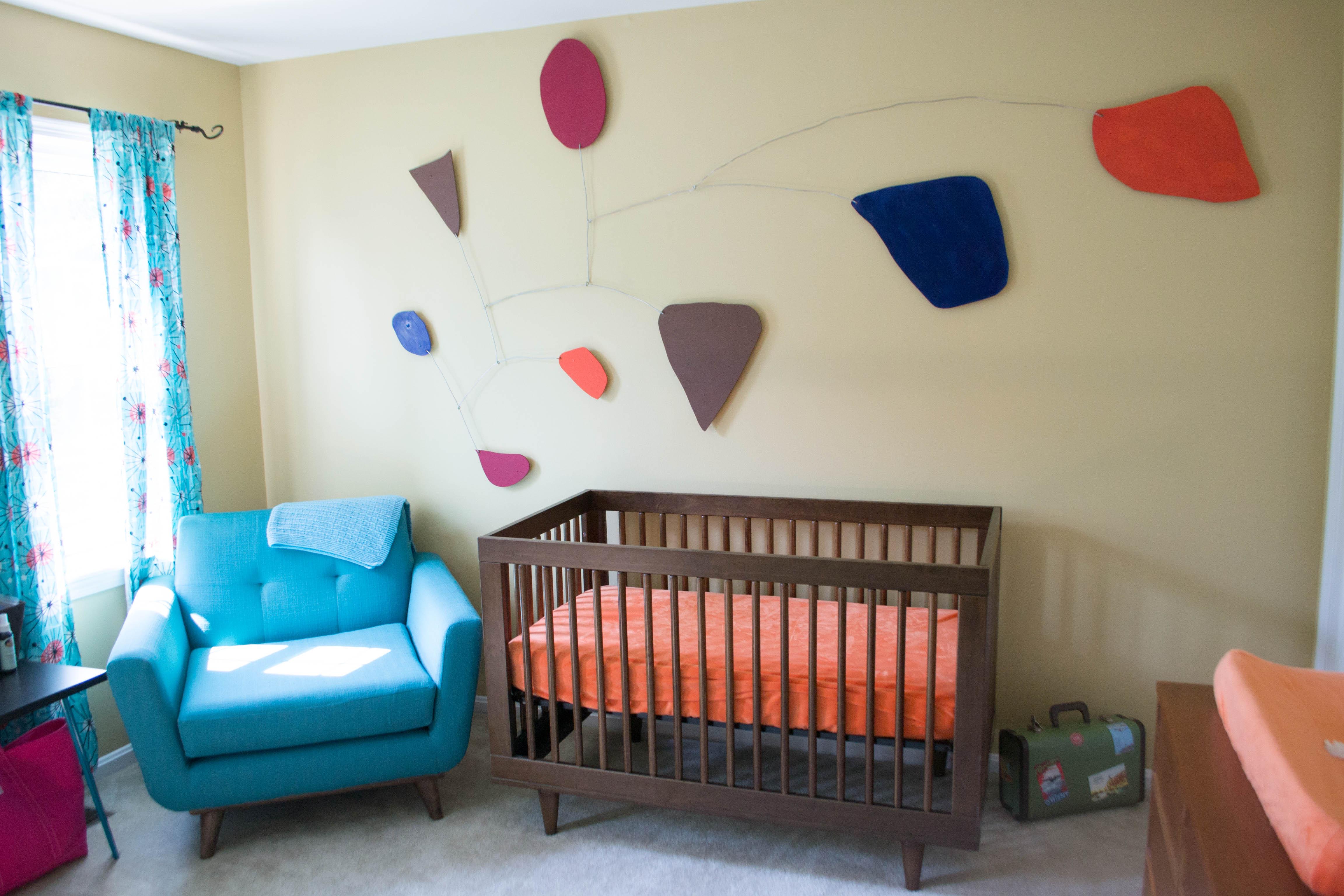 Mid century modern nursery budget friendly project nursery - How to decorate mid century modern on a budget ...