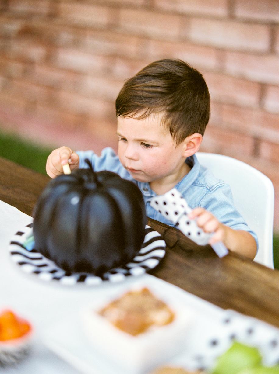 Kids Pumpkin Decorating Party