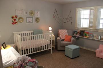 Simple and Bright Nursery
