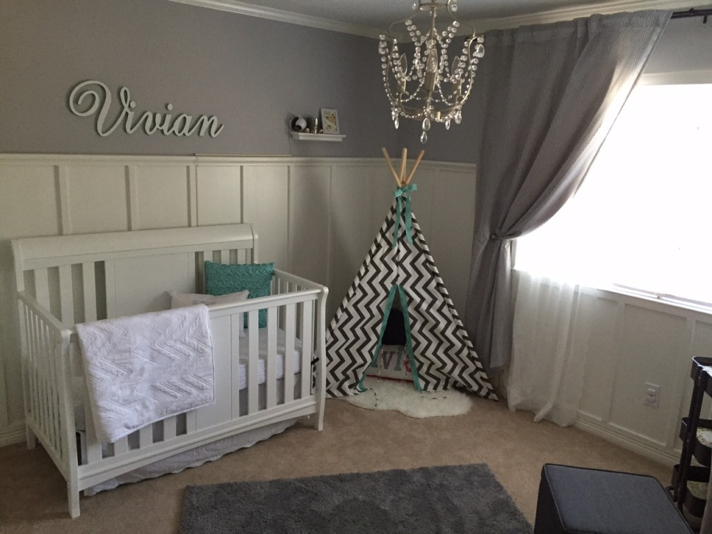Viv S Gray And White Nursery Project Nursery