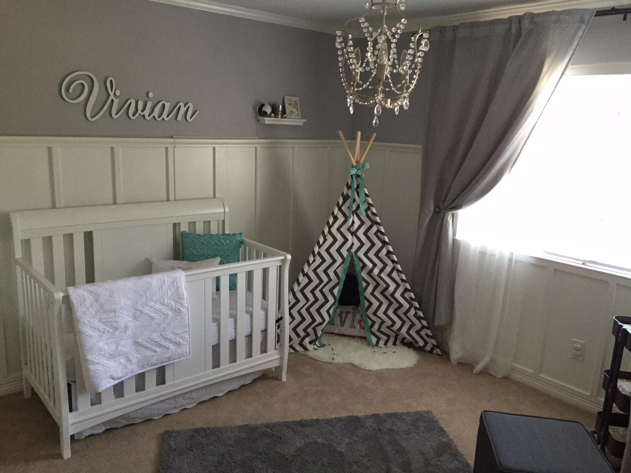 Viv S Gray And White Nursery Project Nursery