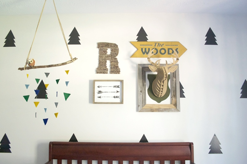 Camping and Adventure Themed Gallery Wall