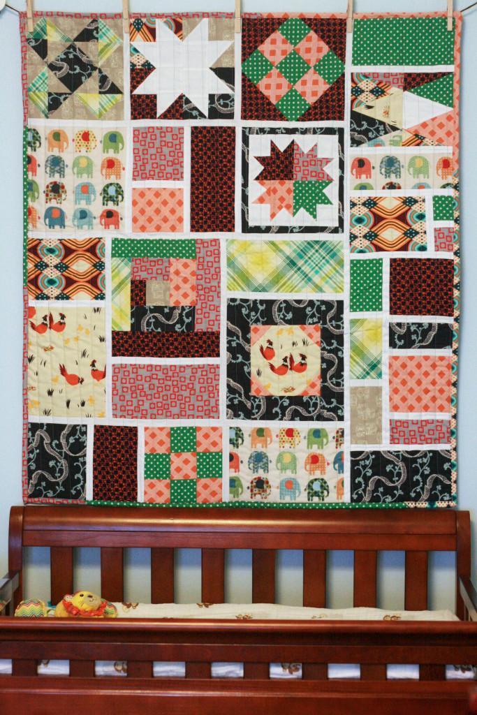 Handmade Nursery Quilt