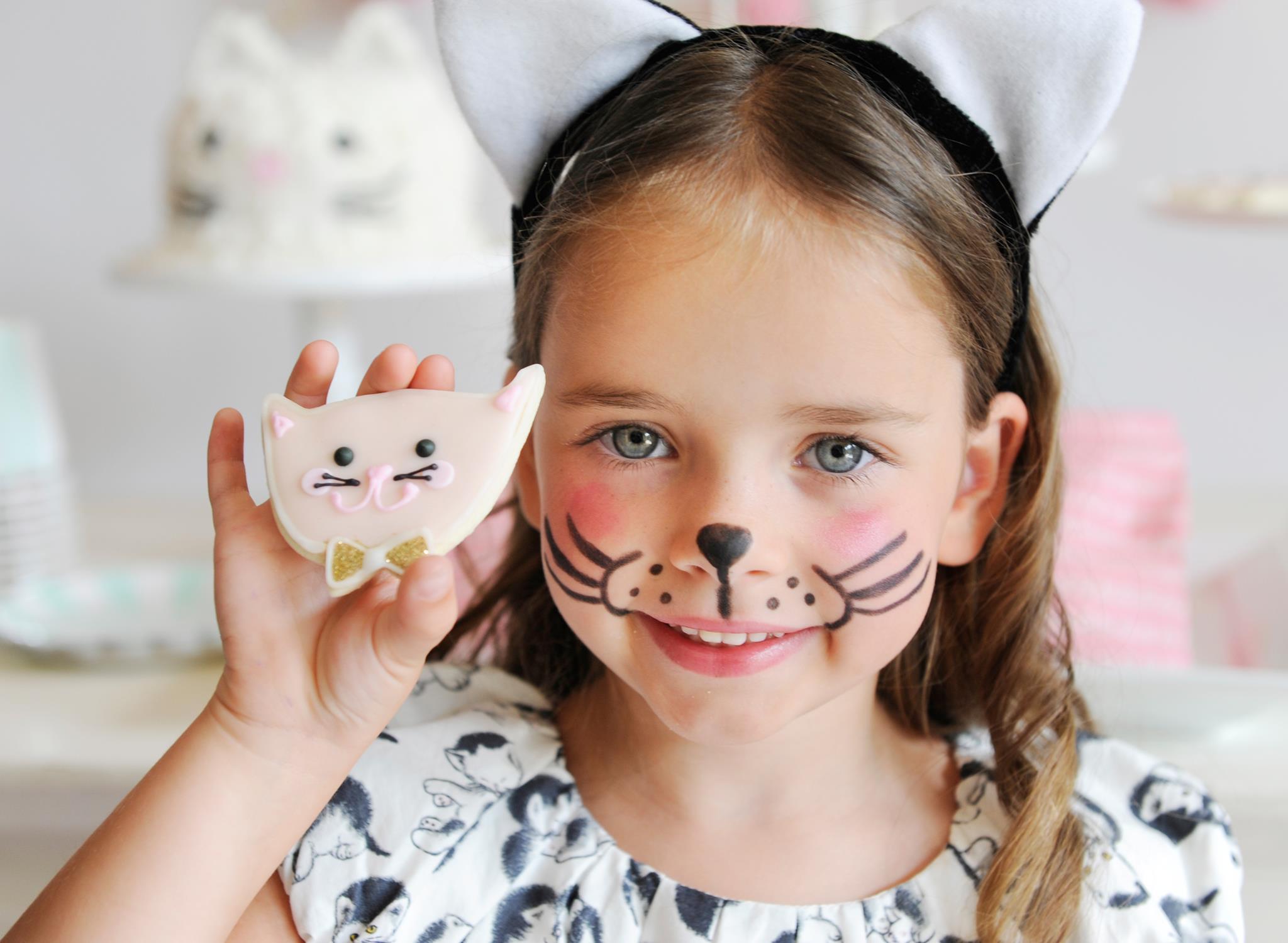 Kitten Cookies