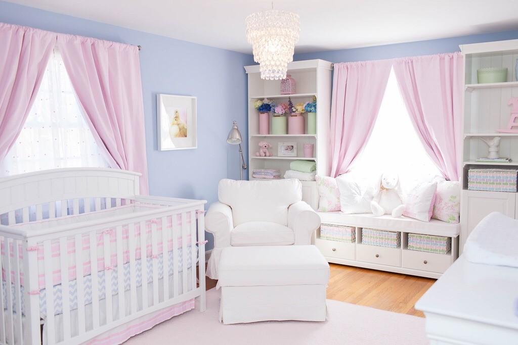 Pastel Pink and Blue Nursery - Project Nursery