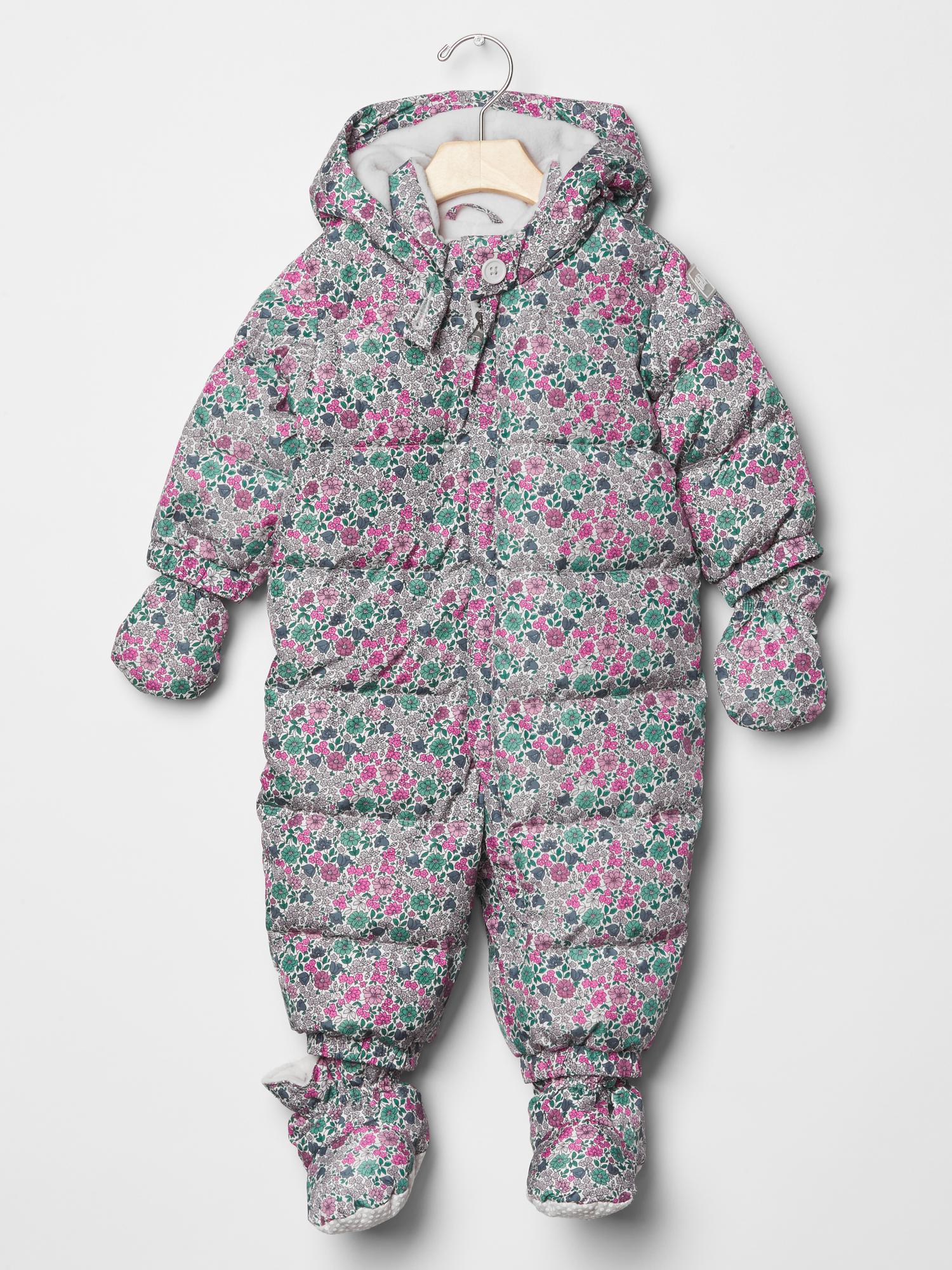 Warmest Down Snowsuit from Baby Gap