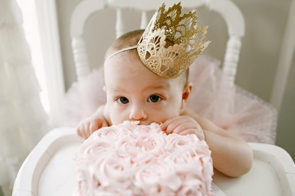 Gold Birthday Party Crown