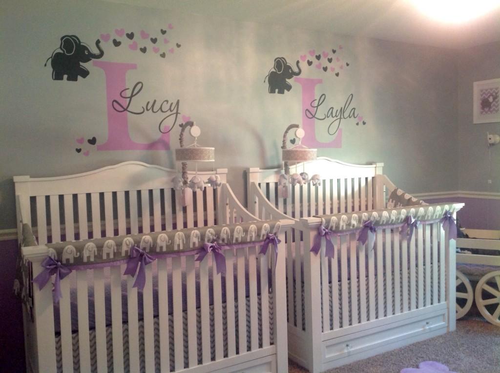 Lucy Amp Layla S Lavender Amp Grey Nursery Project Nursery