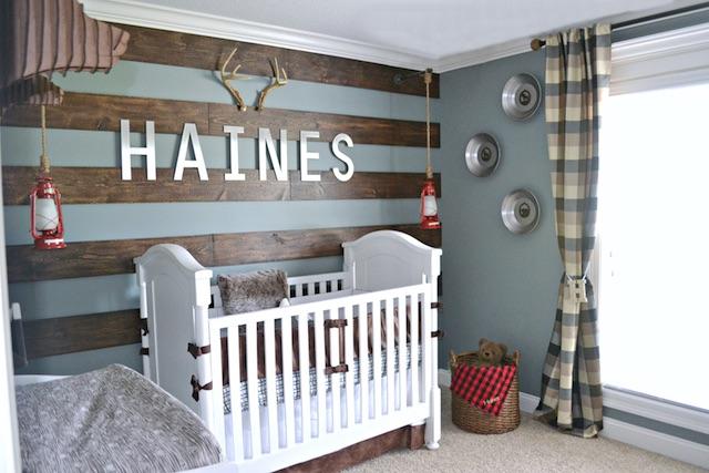 Rustic Alaska Inspired Nursery