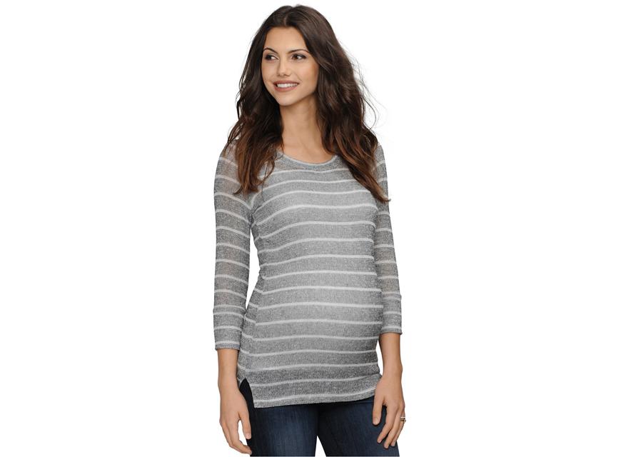 Maternity Striped Sweater from Macys