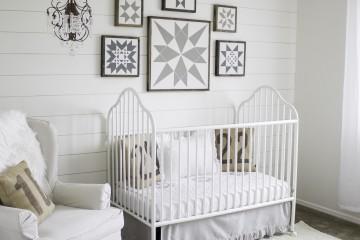 White Gender Neutral Nursery