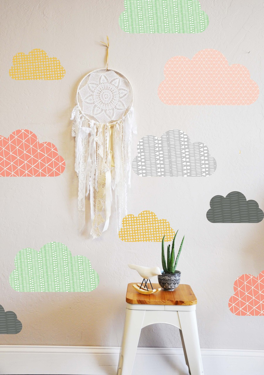 Trend Clouds Decals From The Lovely Wall