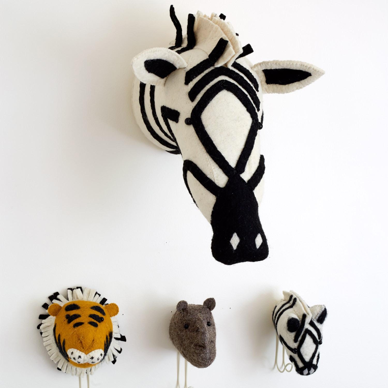 Zebra Head Wall Decor from Layla Grayce