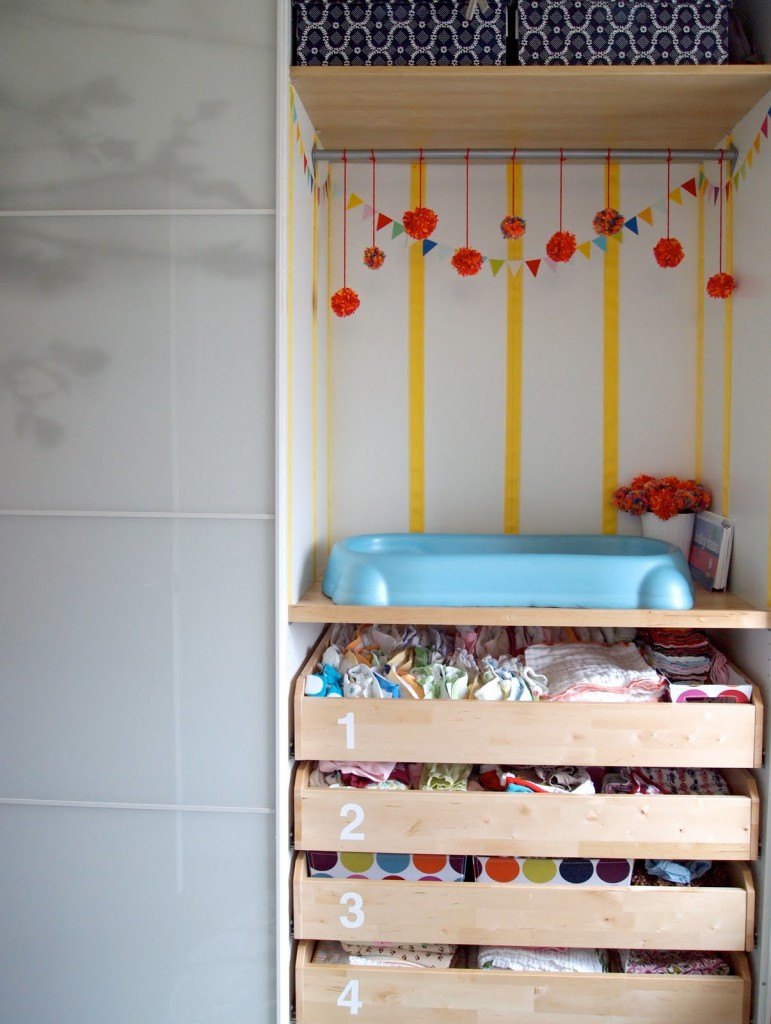 Nursery Clothes Storage - Project Nursery