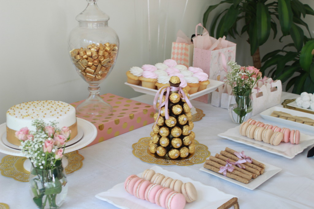 Blush and Gold Baby Shower - Project Nursery