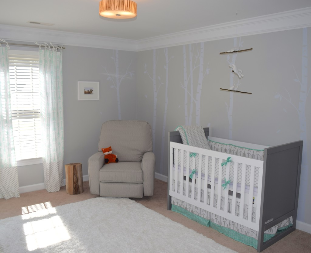 Woodland Themed Gender Neutral Nursery