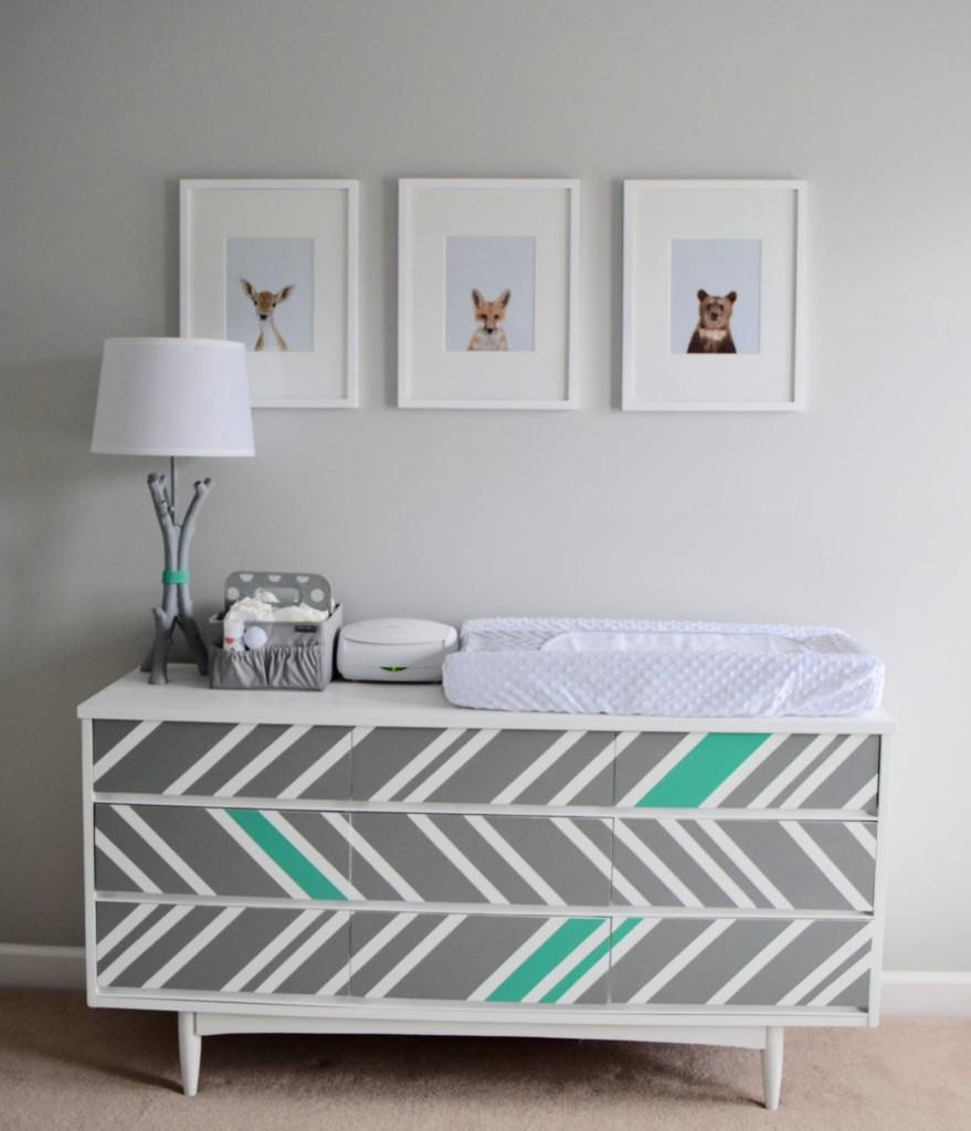 Mid Century Modern Diy Painted Dresser