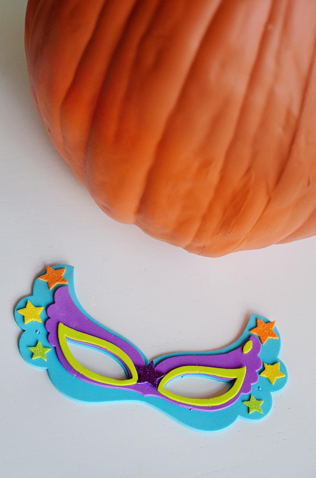 DIY Jack-O-Lantern Candy Holder Materials