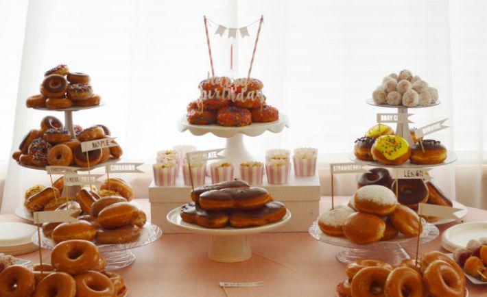 Doughnut-Themed Birthday Party - Project Nursery