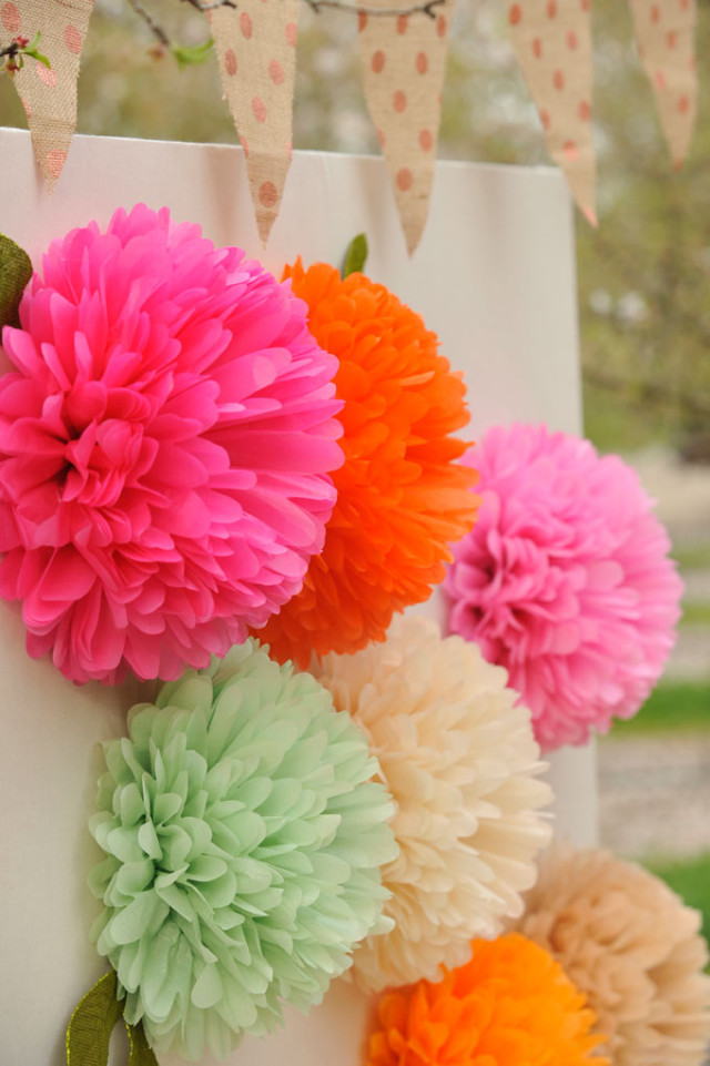 How to make paper flowers project nursery how to make tissue paper flowers mightylinksfo