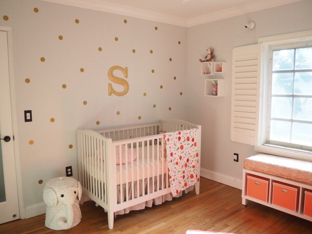 Gray, Pink and Gold Nursery - Project Nursery