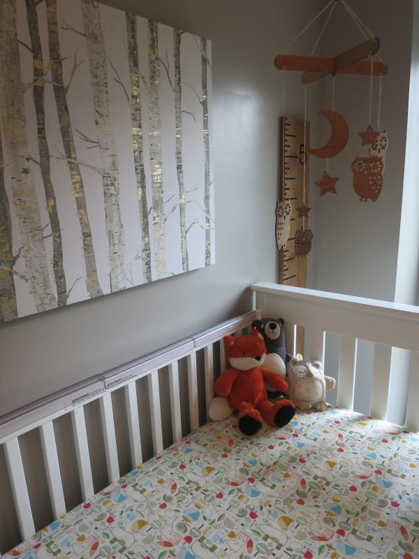 Baby Boy Woodland Camp Themed Nursery Project Nursery