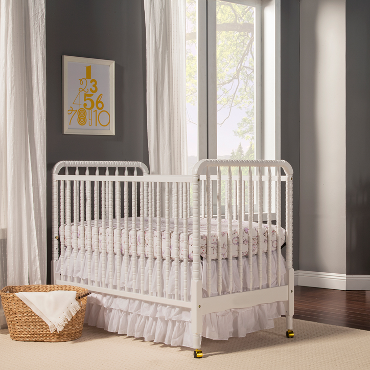 Jenny Lind White Crib - The Project Nursery Shop