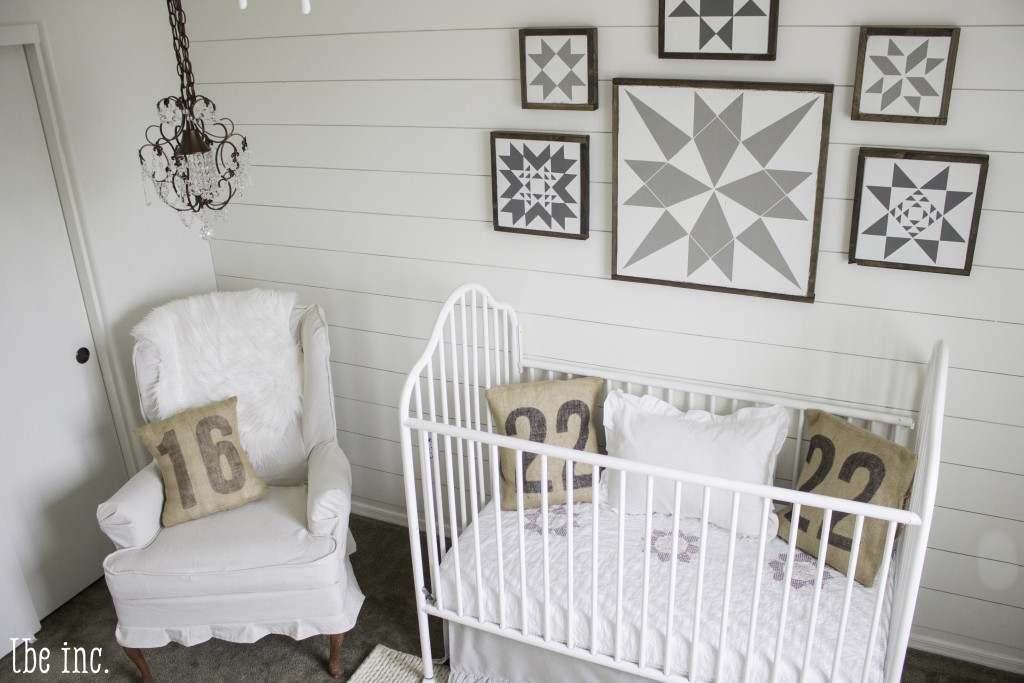 White Gender Neutral Nursery with Vintage Accents - Project Nursery
