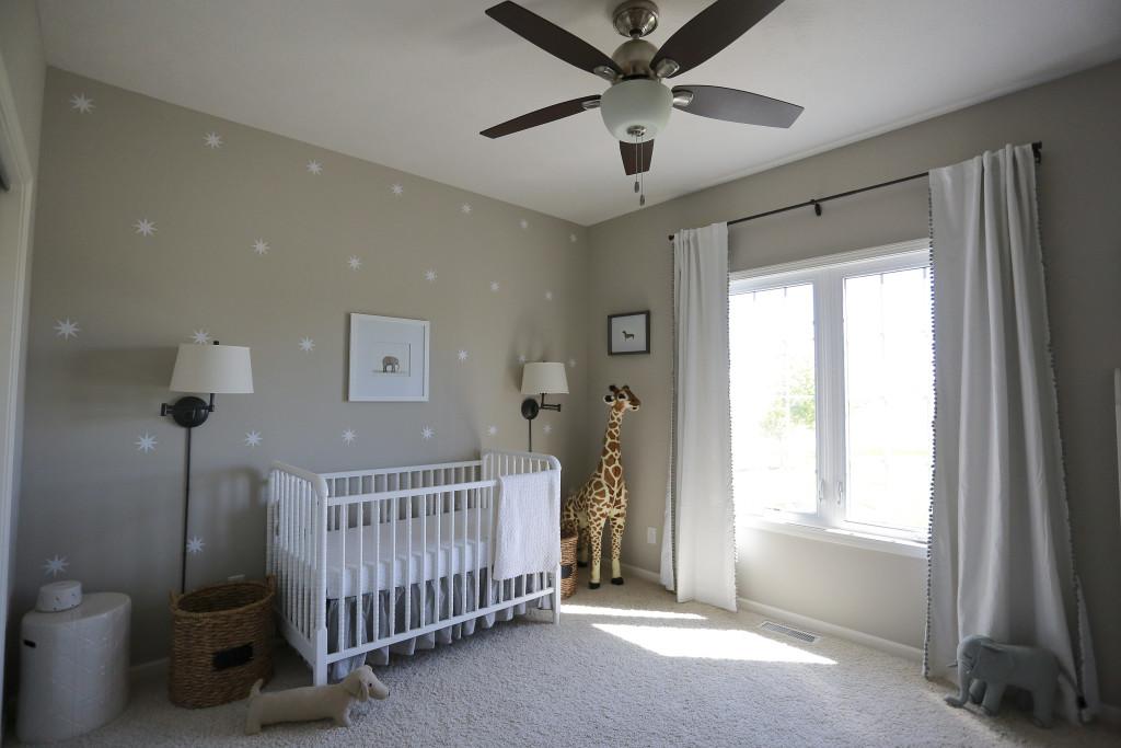 Gender Neutral Gray Zoo Themed Nursery Project Nursery