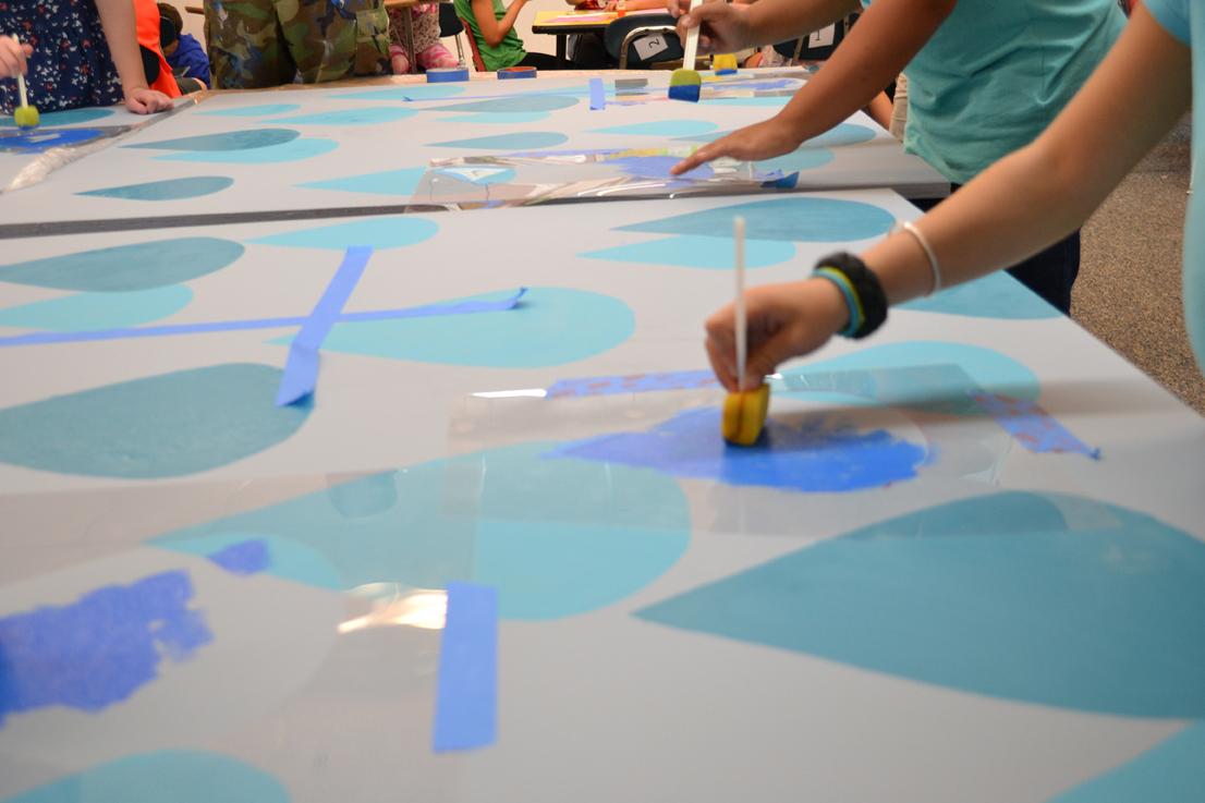 Elementary School Kids Art Project