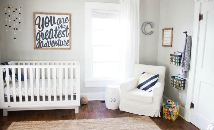 Light and Neutral Boys Nursery - Project Nursery