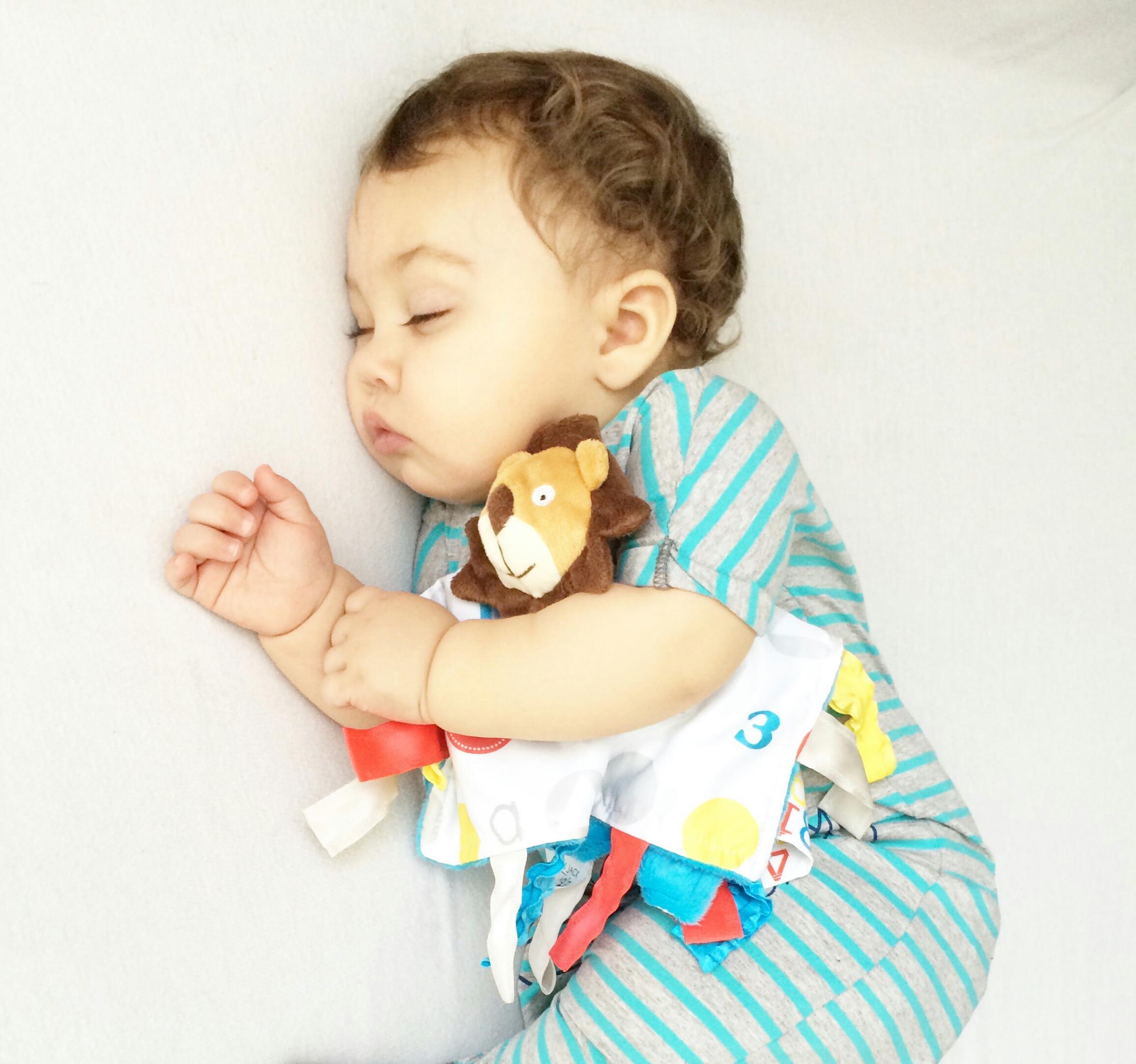 Sensory Tag Blanket from Baby Jack Company
