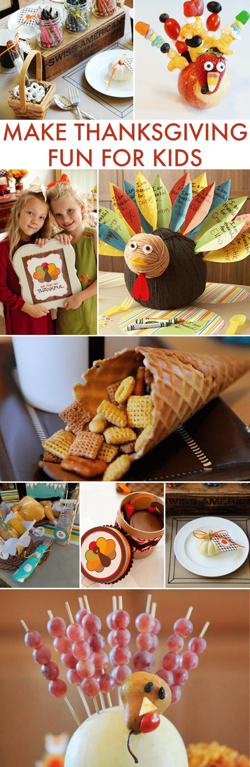 Make Thanksgiving Fun for Kids