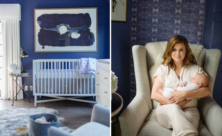 Tiffani Thiessen's Cosmic Nursery