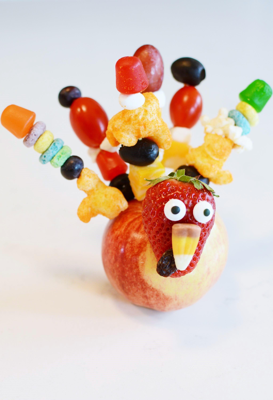 thanksgiving apple turkey kids craft - Turkey Pictures For Kids