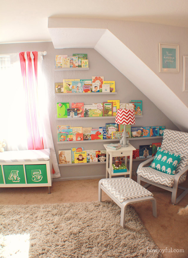 Nursery Book Nook - Project Nursery