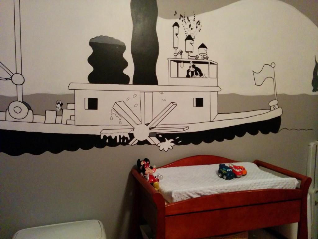 Steamboat Willie Nursery - Project Nursery