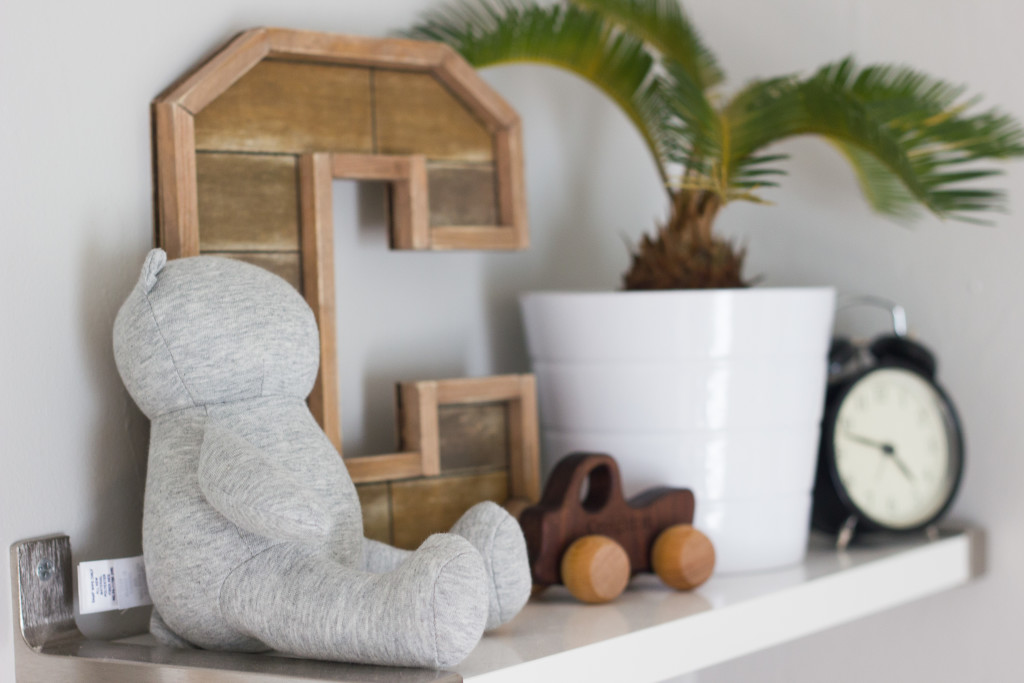 Natural Wood Accents in Nursery