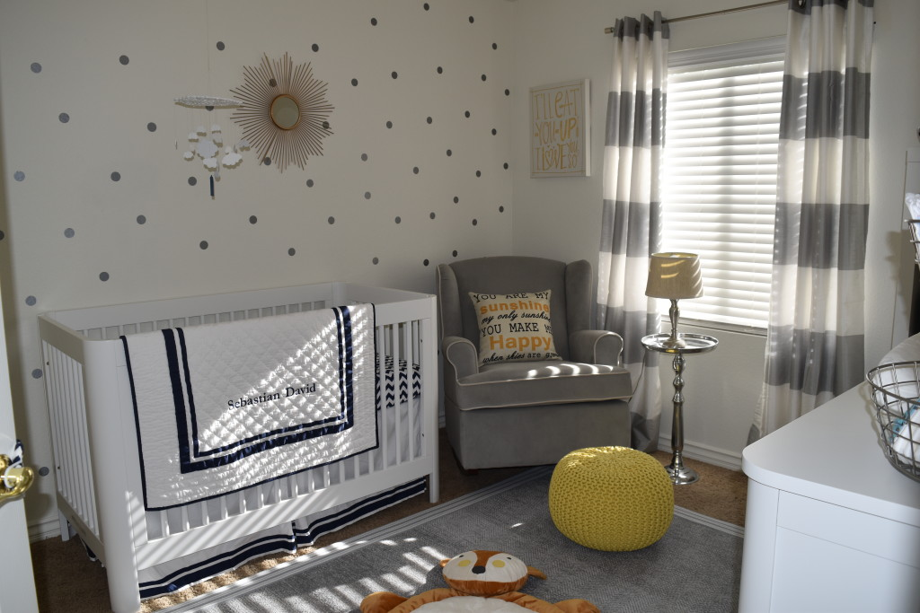 Gray and White Gender Neutral Nursery - Project Nursery
