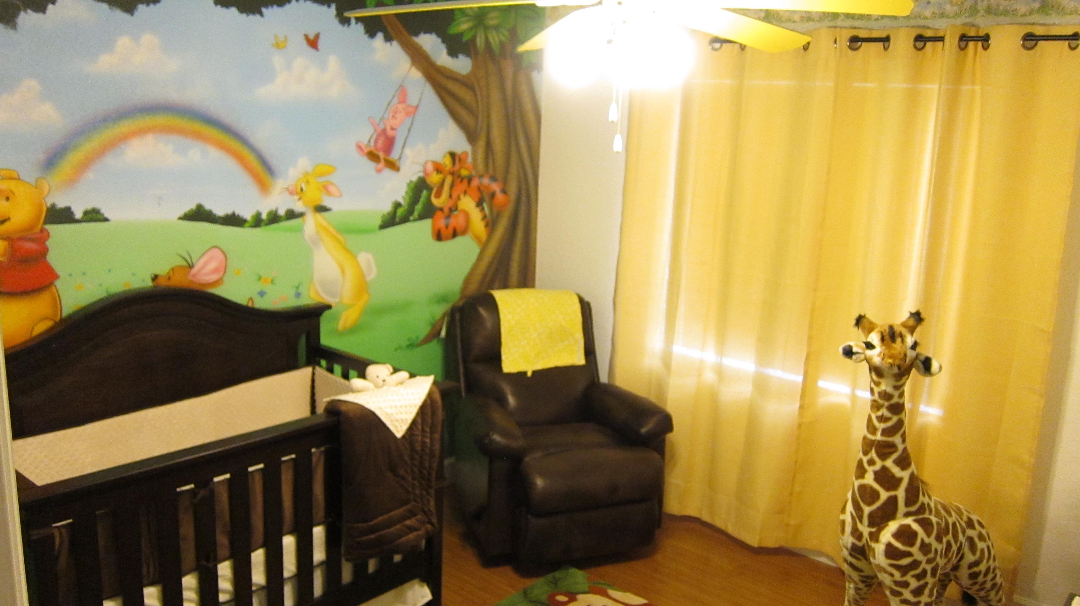 jungle themed winnie the pooh nursery