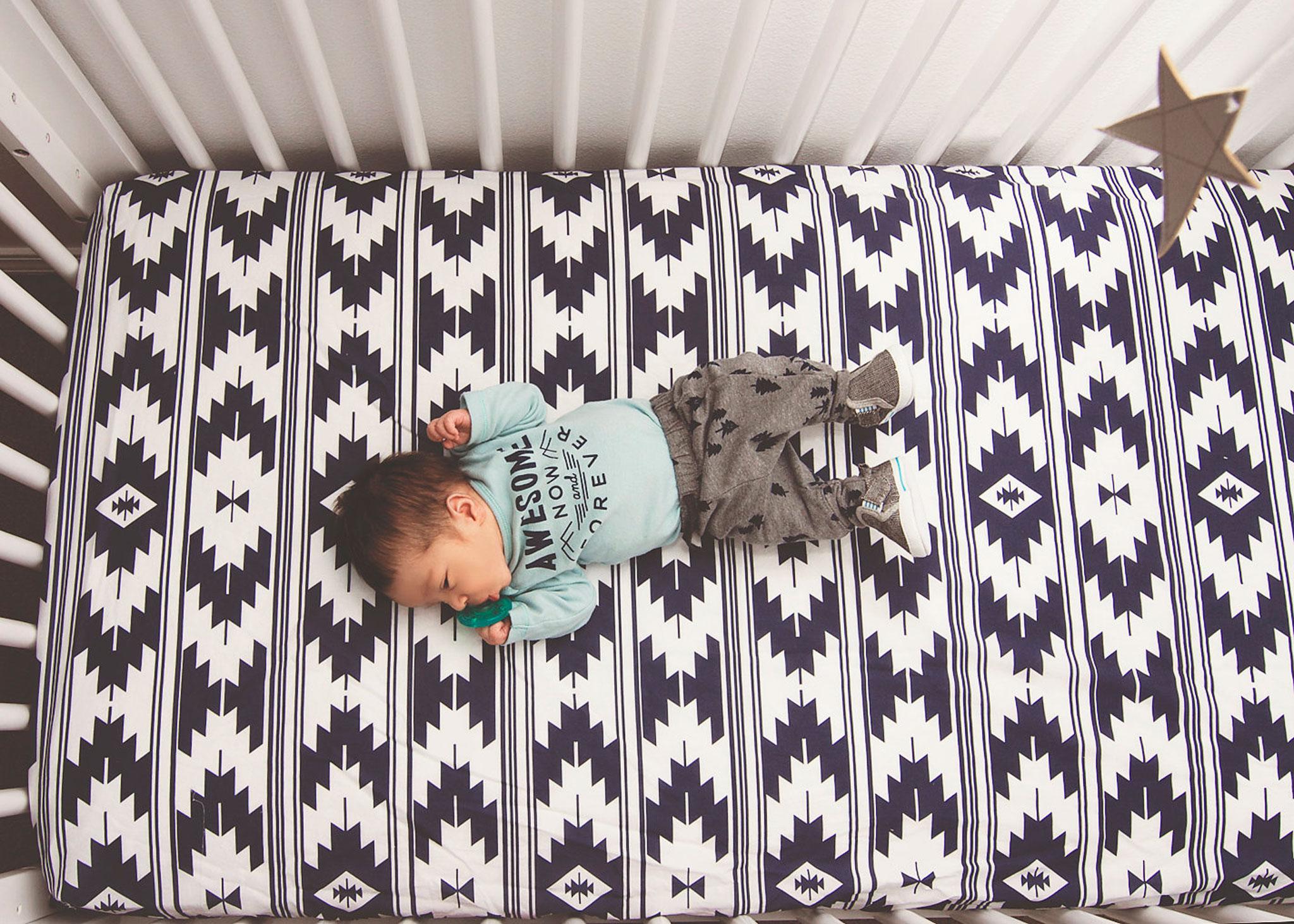 Kilim Crib Sheet