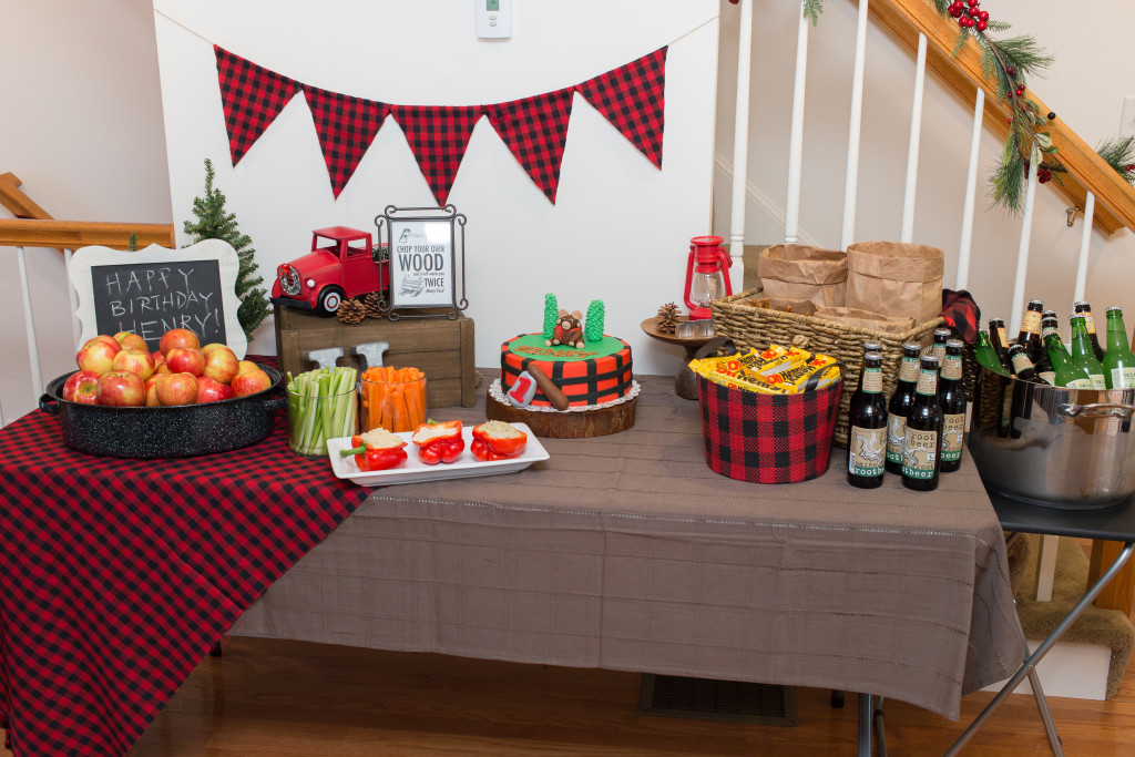 Lumberjack Themed Birthday Party - Project Nursery