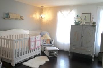 Glamorous Shabby Chic Nursery
