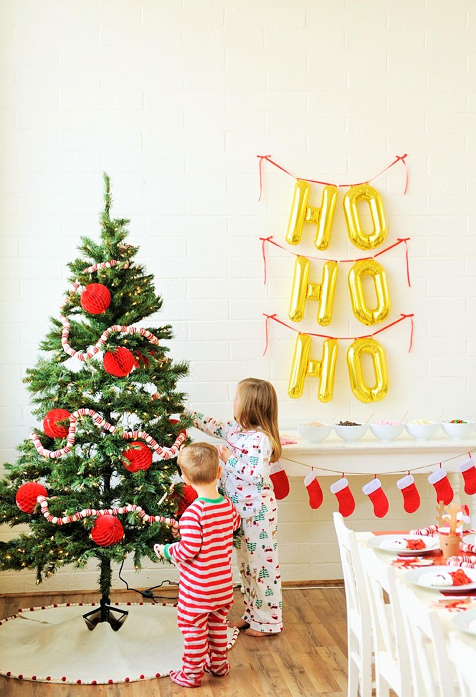 Kids Christmas Pajama Party