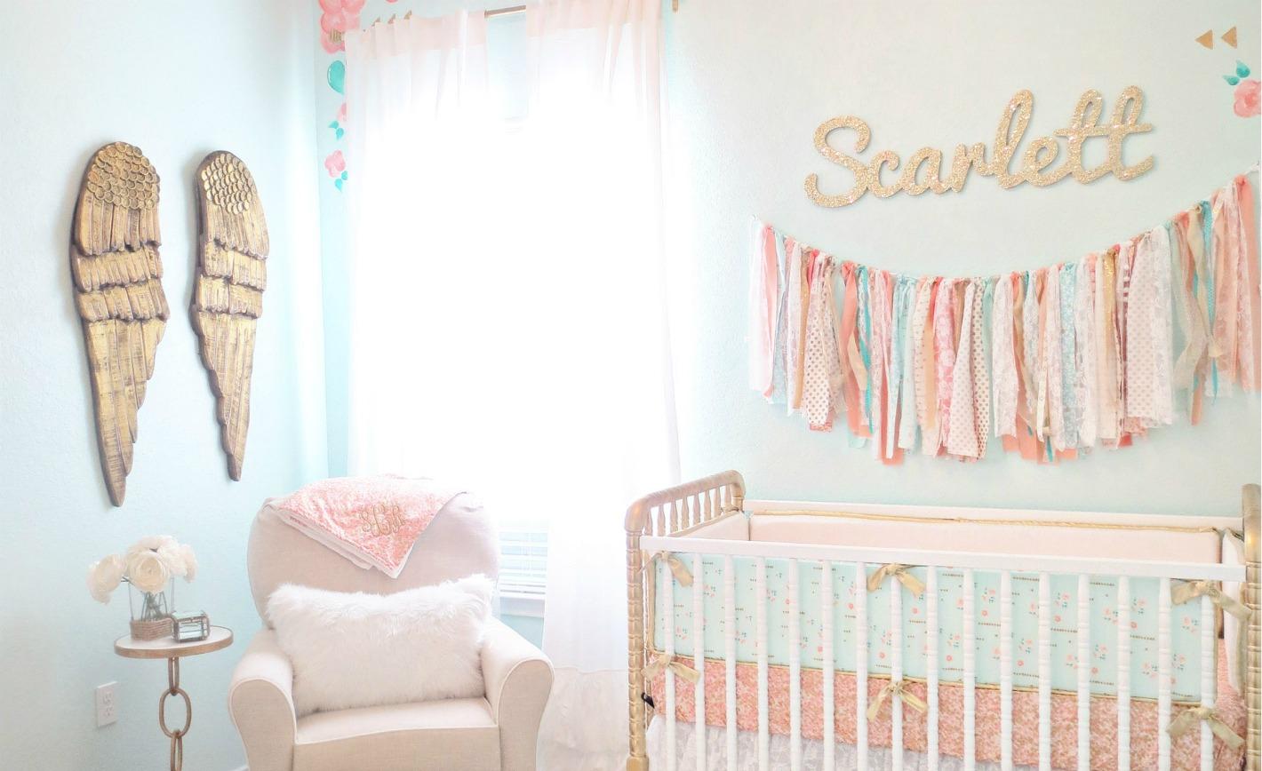 Design Reveal Vintage Lace Nursery Project Nursery