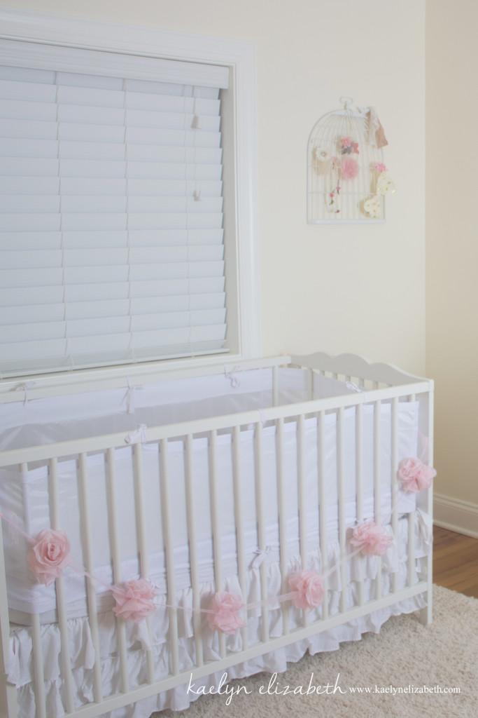 Shabby-Chic Feminine Nursery